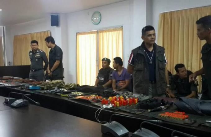 Des anciens militaires arrêtés, parmi d'autres, pour association de malfaiteurs à Krabi