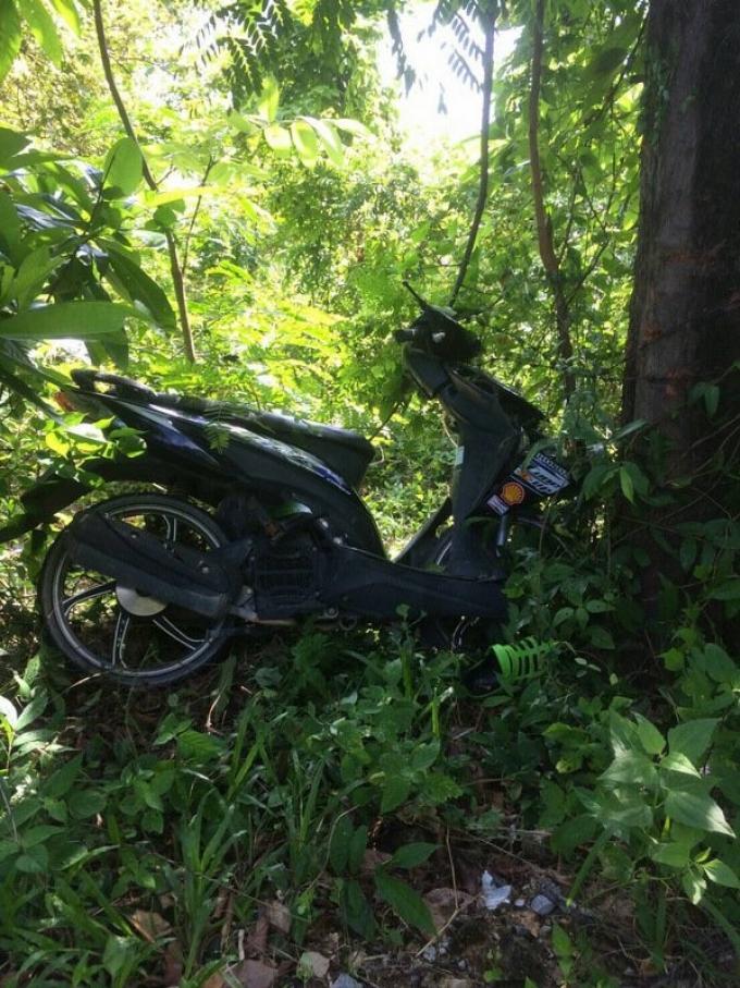 Accident de scooter a Kamala, un mort, un blessé