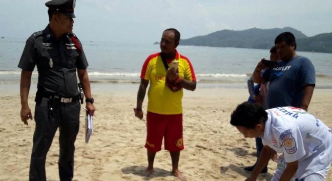La police de Phuket estime que le décès du touriste anglais à Patong Beach est une noyade due à