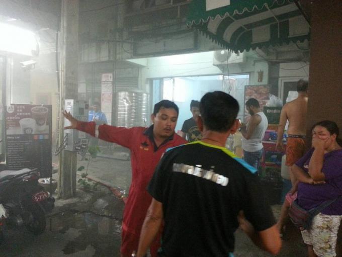 Un incendie éclate en plein Patong