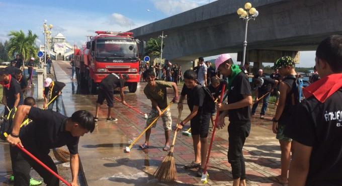 Phuket lance une semaine de nettoyage de l'ile
