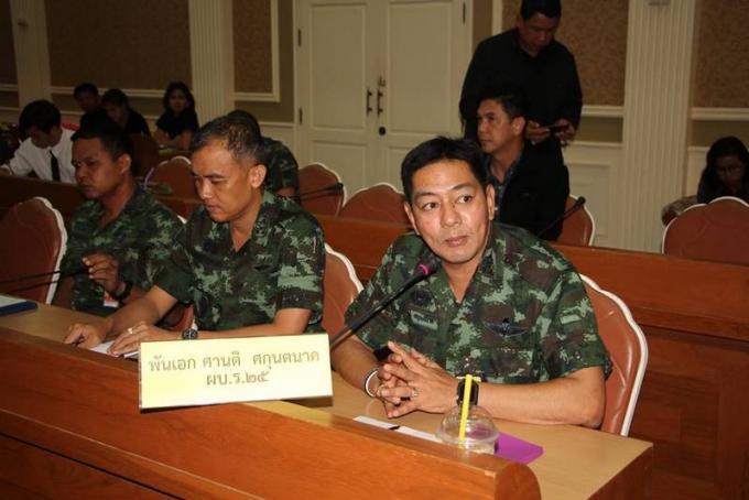 Le nouveau chef régional de l'armée 'satisfait' par les officiels de Phuket
