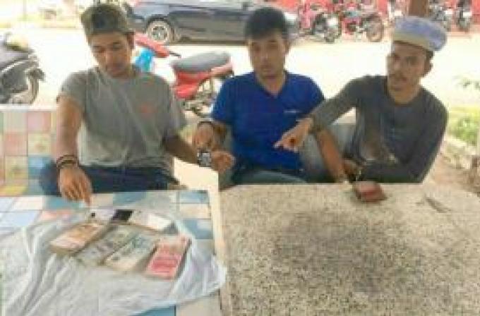 Le trio au scooter arrêté pour avoir volé un chinois et possession de marijuana
