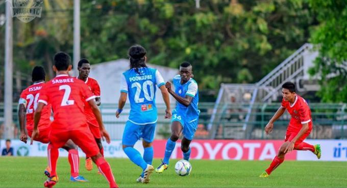 Phuket FC à la lutte pour garder sa forme