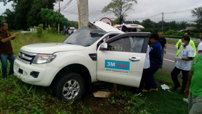 Un conducteur survit après avoir percuté un pylône