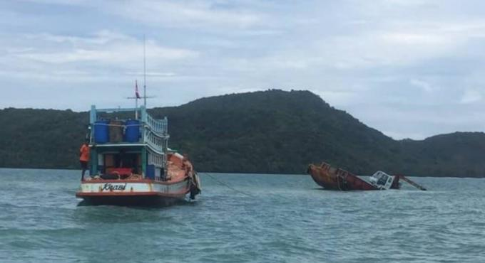 Une barge coule au large de Phuket, aucune victime ni aucun blessé ne sont à déplorer
