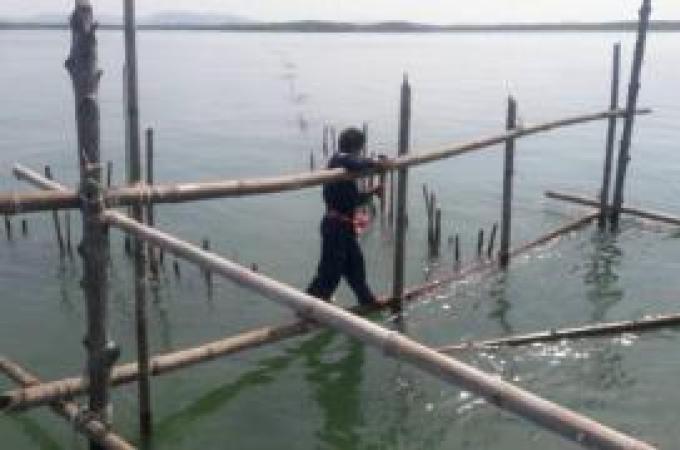 Les officiels de Krabi retirent des dizaines de filets de pêche illégaux