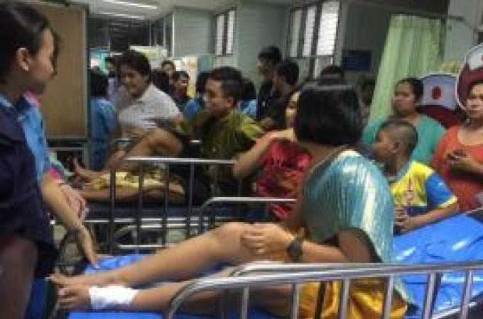 Des étudiants blessés lors d'un festival par des feux d'artifice défectueux