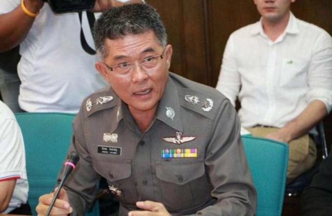 Le commandant de la police de Phuket dément les rumeurs d'attentats à la bombe