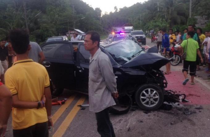 Des meurtriers présumés blessés dans un accident de la route, peu de temps après avoir tiré sur