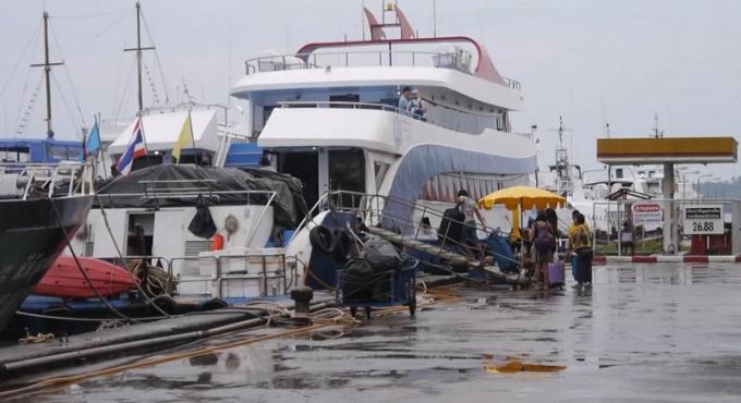 Pluie et alerte aux inondations à l'approche du cyclone Mora sur les côtes de l'Andaman