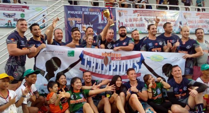 Champions 2017 : Les Phuket Vagabonds remporte un nouveau titre depuis le dernier en 2015
