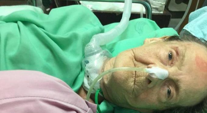 Une anglaise de 68 ans entre la vie et la mort après un accident de voiture dans lequel son fils et