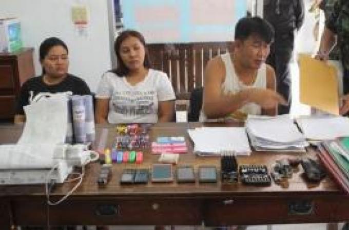 Trois arrestations dans un cercle de loterie clandestine