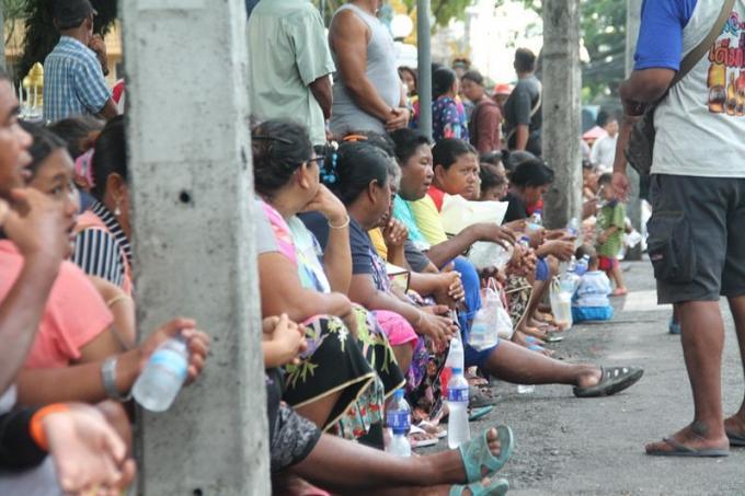 Les défavorisés de Phuket demandent des endroits ou vivre