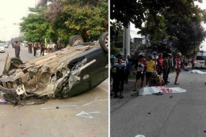 Une étudiante percute un groupe de 23 cyclistes- 3 morts, 6 blessés