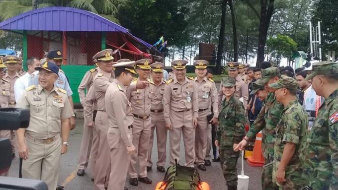 Le gouverneur de Phuket met la population en garde contre les possibles crues