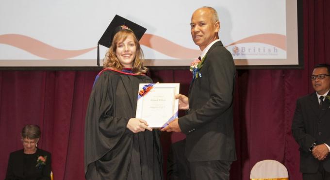 Les diplômés 2017 de la BISP entreront dans des universités de 16 pays différents à travers le