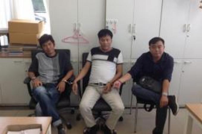 Des malaisiens arrêtés pour escroquerie