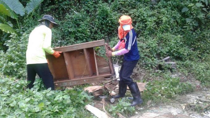Les autorités demandent de signaler les dépôts d'ordures illégaux