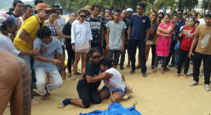 Le corps d'un nageur disparu retrouvé près d'une plage de Phuket