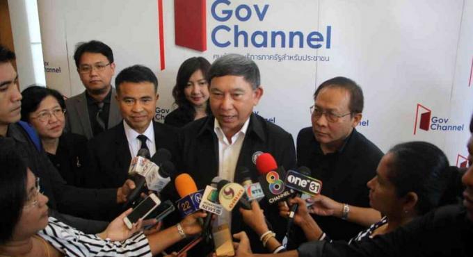 Le premier ministre adjoint apporte son soutien pour un 'e-Gouv' à Phuket