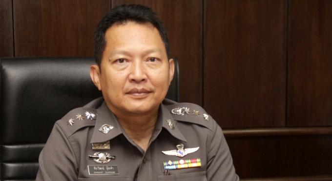 Le chef de la police de Patong nommé commandant adjoint de la police de Phuket