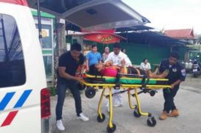 Un technicien victime d'un choc électrique