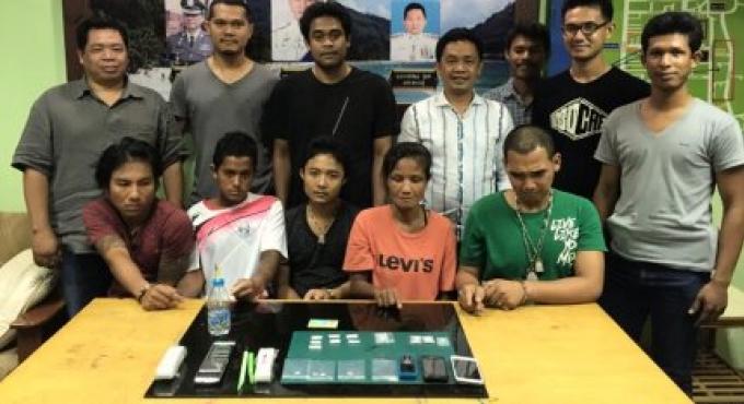 Cinq personnes arrêtées avec du Ya Ice, dans la campagne de lutte contre la drogue et le crime à