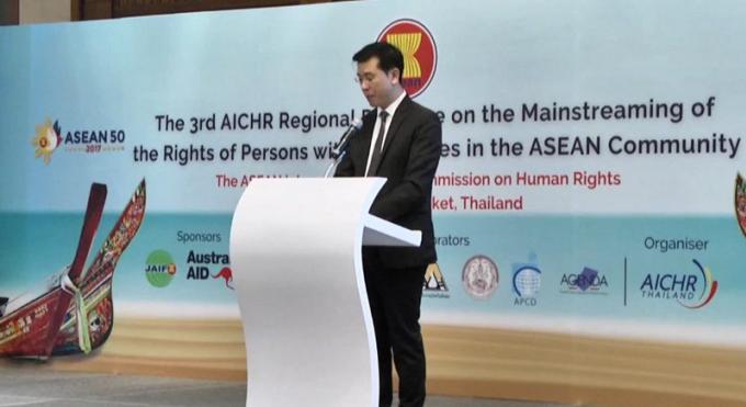 Phuket accueille le forum de l'Asean sur les droits des handicapés