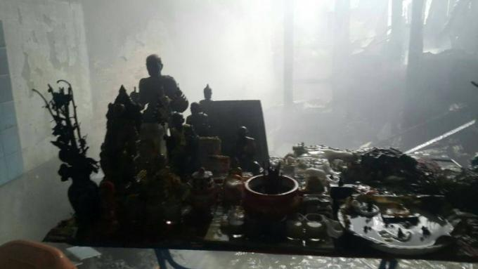 Incendie dans un restaurant de Phuket, 30.000 baths de dommages