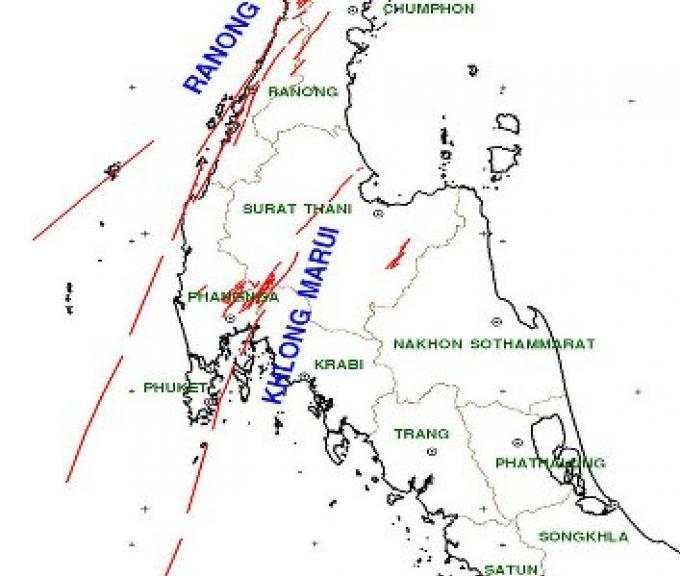 Phuket secoué par un tremblement ce matin très tôt