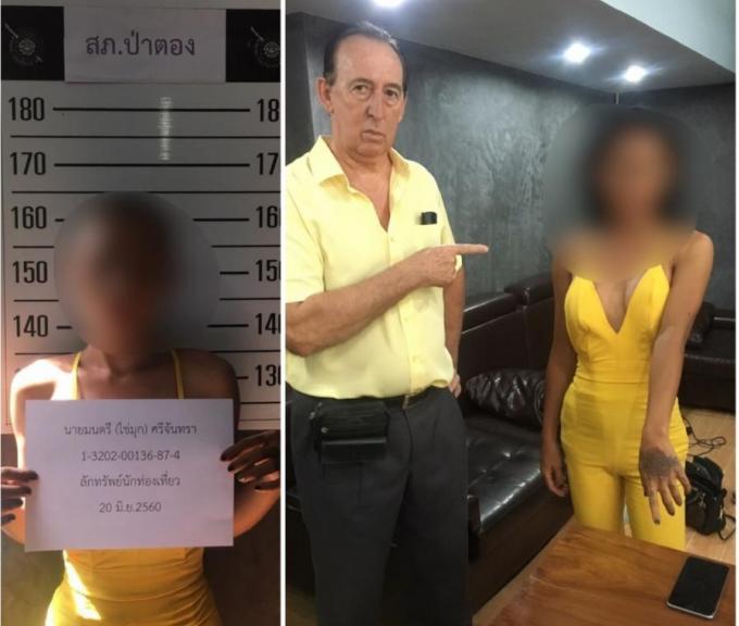 Un touriste français volé par un ladyboy à Patong Beach