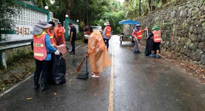 La 'Grosse Semaine de Nettoyage' commence par Chalong