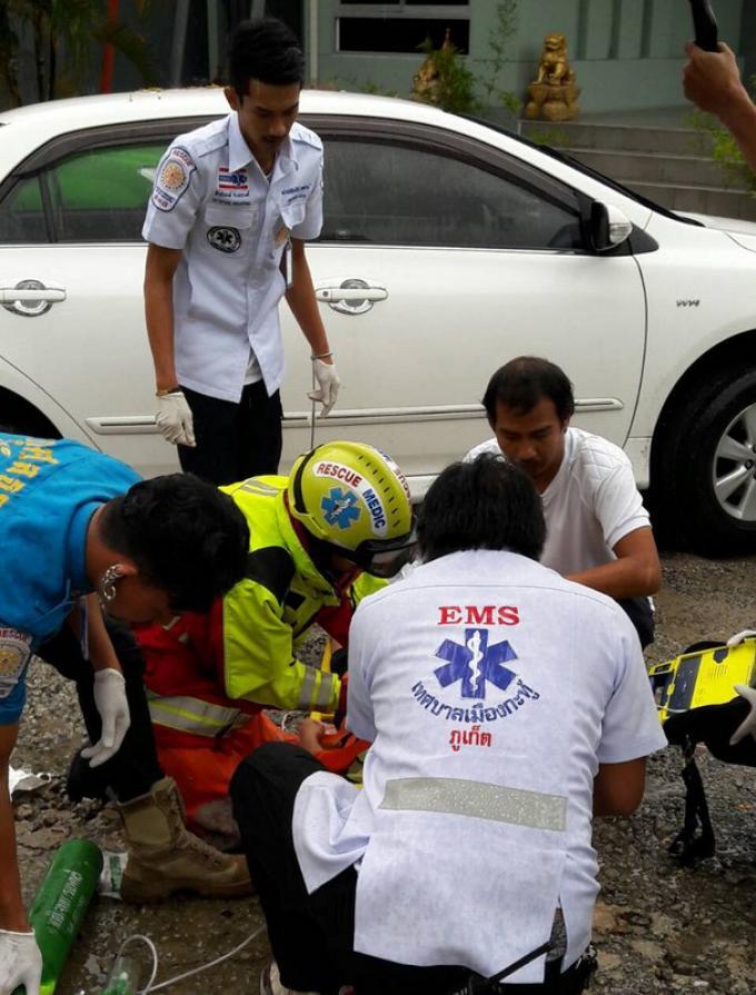 Une femme percutée par une voiture grièvement blessée
