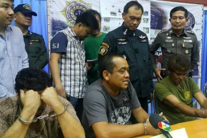 Un gang de tueurs arrêté à Phuket et Krabi
