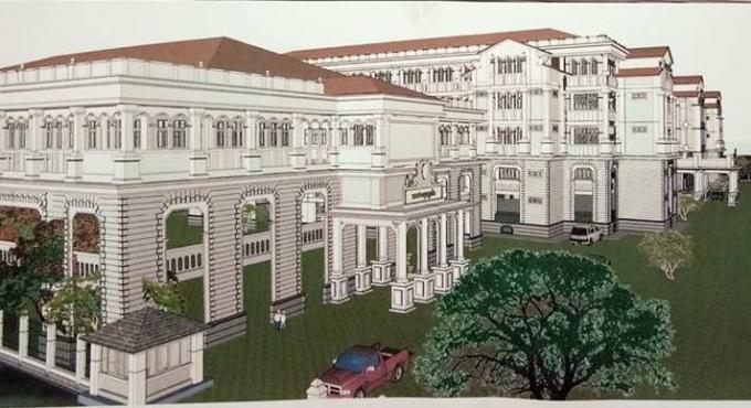 Nouveau Provincial Hall, des indemnités en cas de retard