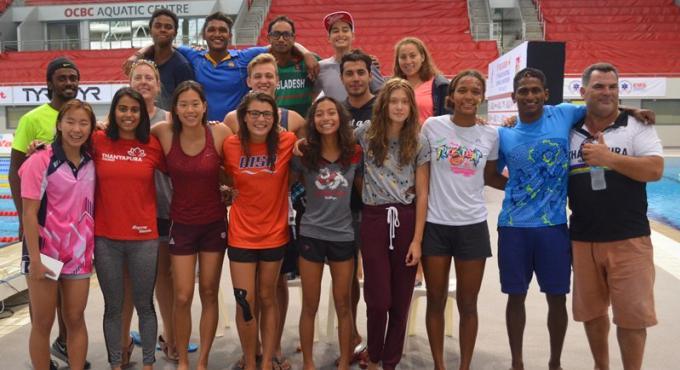 Des nageurs de Phuket battent des records nationaux lors des Singapore Swimming Championships