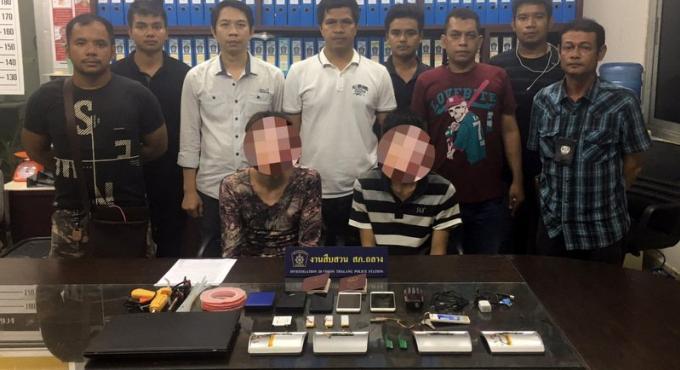 Des escrocs chinois arrêtés à Phuket