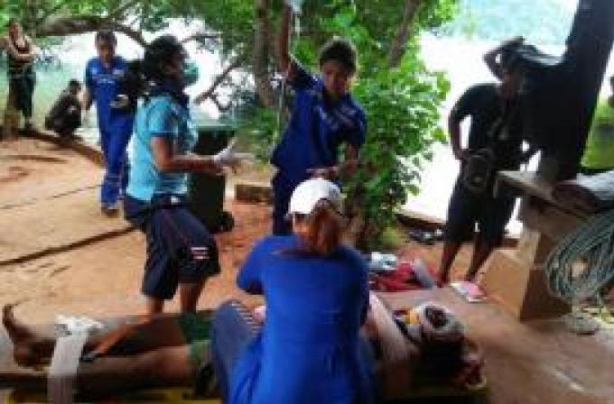 Un touriste américain grièvement blessé dans un accident d'escalade