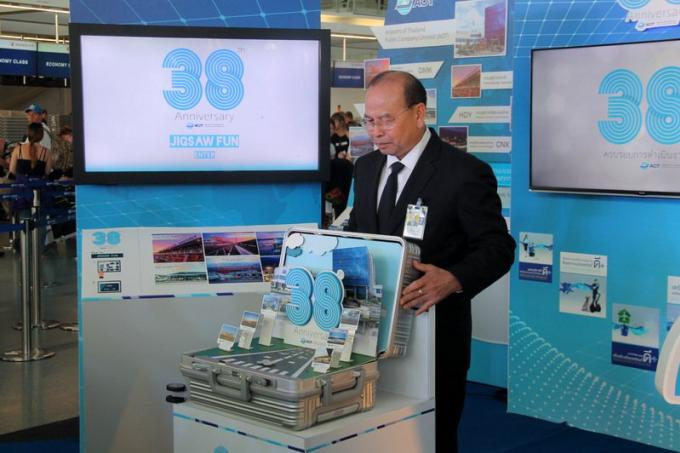 AoT célèbre son 38ème anniversaire à l'aéroport de Phuket