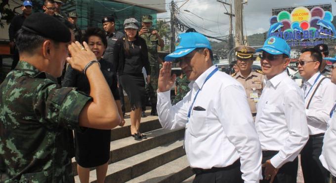 Pattaya prendra exemple sur Patong Beach pour établir des règles de plage