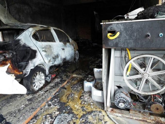 500.000 baths de dommages dans l'incendie d'une laverie