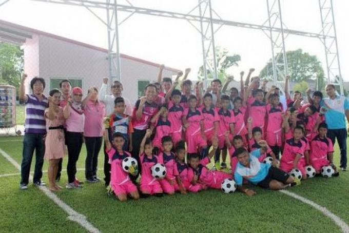 Phuket OrBorJor ouvre le nouveau Futsal Arena