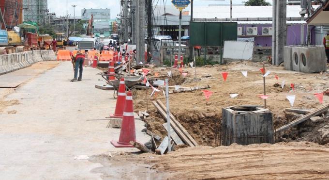 Feu vert pour la poursuite de la construction du tunnel de Chalong, déjà énormément retardée