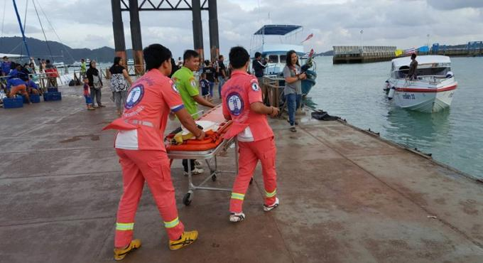 Le corps d'un touriste chinois retrouvé au large de Phuket