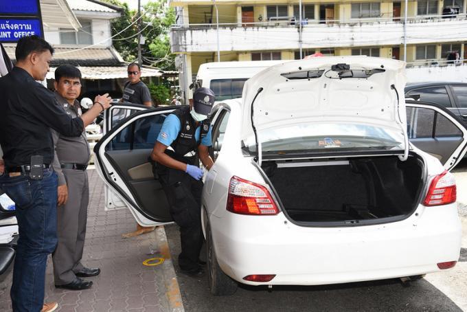La police retrouve des taches de sang dans la voiture de l'allemand suspecté de meurtre