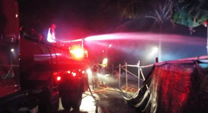 Un incendie dans un resort de luxe de Phuket fait B3 millions de dégâts