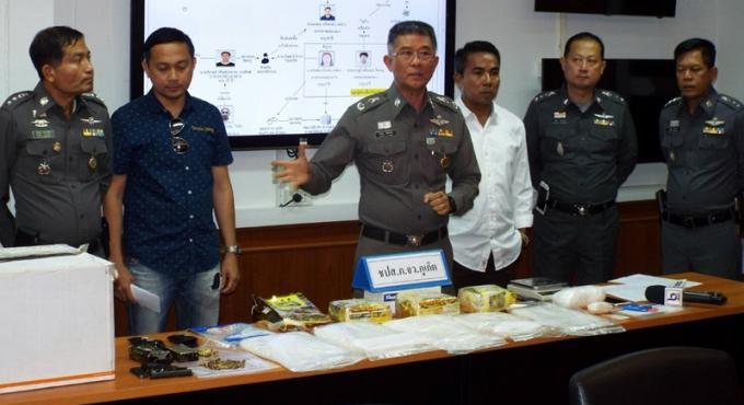 La police saisit 7.5kg de ya ice, le commandant de la police s'inquiète d'une chute des prix