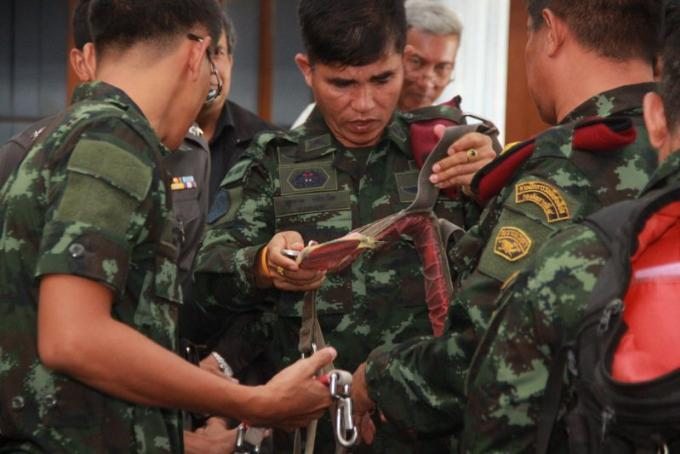 L'armée veut des équipements de parachute ascensionnel plus surs